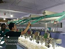 为越南客户提供技术支持